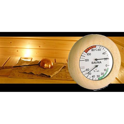 Imagem de Termo-Higrômetro para Sauna alemão em madeira