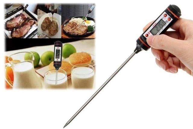 Imagem de Termometro culinario digital com capa a bateria hauskraft na cartela