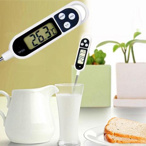 Imagem de Termômetro Culinário Digital Espeto Alimento Bebida Cozinha 33300