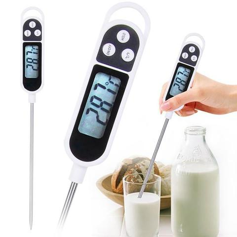 Imagem de Termômetro Culinário Digital Espeto Alimento Bebida Cozinha