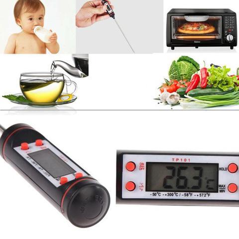 Imagem de Termômetro Culinário Digital Espeto Alimento Cozinha