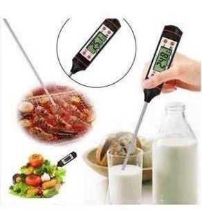 Imagem de Termometro Culinario Digital tipo Espeto para Alimentos Cozinha