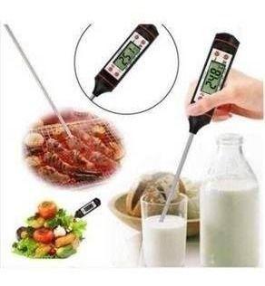Imagem de Termômetro Culinário Digital Tipo Espeto Para Cozinha - Nova