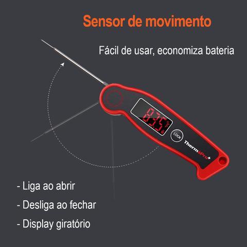 Imagem de Termômetro digital alimentos tipo espeto Thermopro TP-19