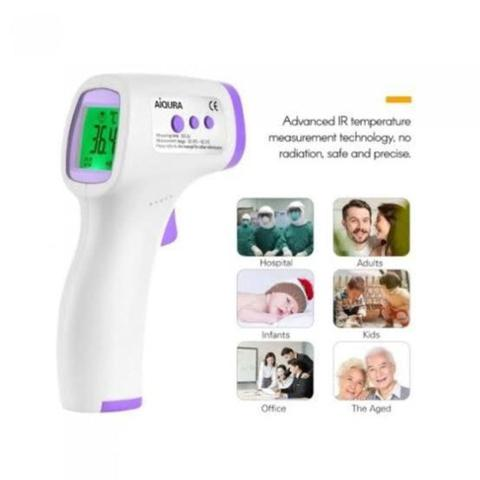 Imagem de Termometro digital forehead no touch ad801 aiqura - Testo
