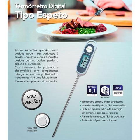 Imagem de Termômetro Digital Tipo Espeto para Alimentos - Incoterm