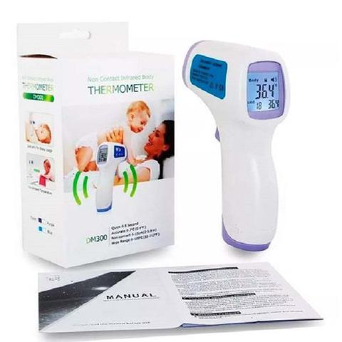 Imagem de Termômetro Laser Digital Infravermelho Febre Testa Bebê Adulto Infantil Criança - RB