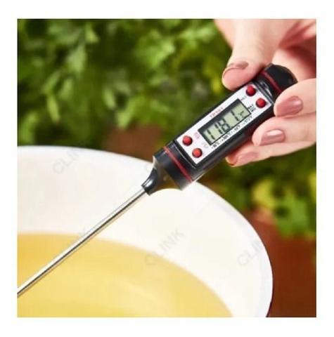Imagem de Termômetro Para Cozinha Digital Espeto Tp101 Culinário