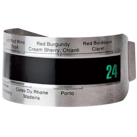 Imagem de Termômetro para Vinho Aço Inox Cromado Euro Home ZR670