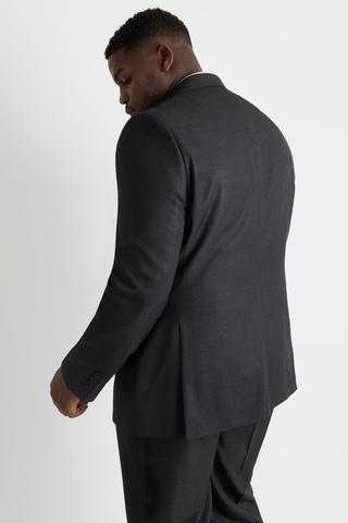 Imagem de Terno Masculino Plus Size Chumbo