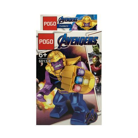 Imagem de Thanos Vingadores Ultimato Marvel Blocos de Montar Boneco Lego PG-6013-8