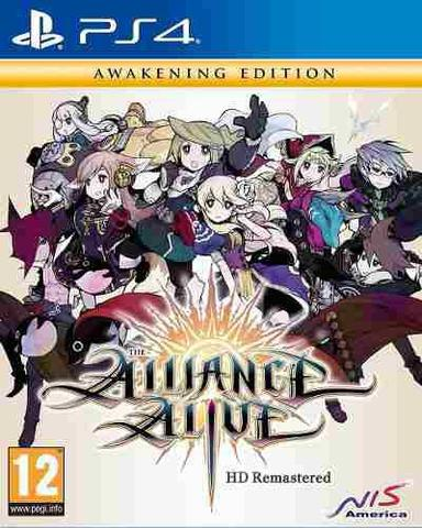 Jogo The Alliance Alive Hd Remastered: Awakening Edition - Playstation 4 - Nis America