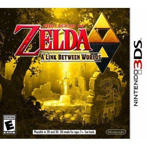 Imagem de The Legend Of Zelda - A Link Between Worlds - Nintendo 3DS