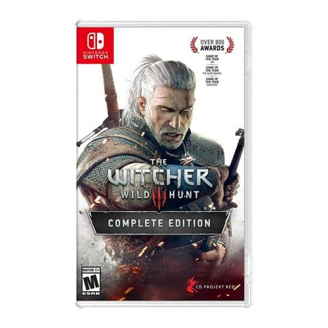Jogo The Witcher 3 Wild Hunt Complete Edition - Switch - Cd Projekt