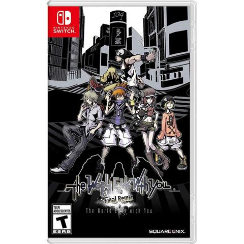 Jogo The World Ends With You - Switch - Square Enix