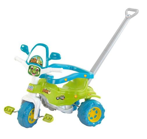 Imagem de Tico-tico Motoca Triciclo Dino Verde - Magic Toys 2801