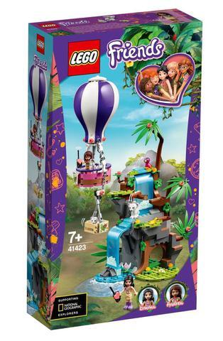 Imagem de Tiger hot air balloon jungle rescue lego 41423