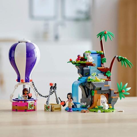 Imagem de Tiger Hot Air Balloon Jungle Rescue Lego Friends - LEGO 41423