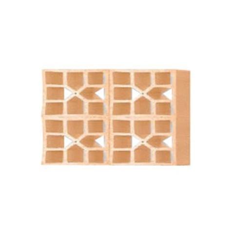 Imagem de Tijolo Vazado Diagonal Xis 25x18x7cm