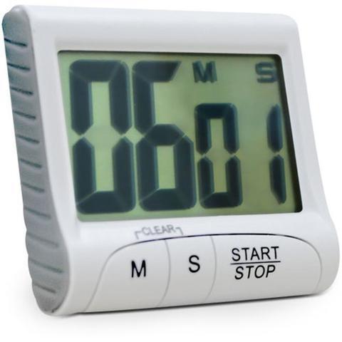 Imagem de Timer e cornometro digital com imã contagem progressiva e regressiva