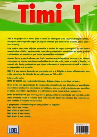 Imagem de Timi 1 Português do Brasil - Caderno de Exercícios