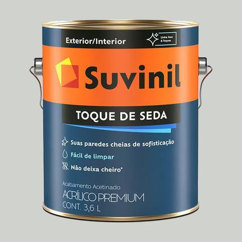 Imagem de Tinta Acrilica Suvinil Cromio Acetinado Toque de Seda 3,6 LT
