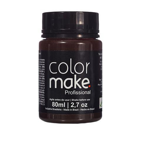 Imagem de Tinta Liquida Profissional Marrom  - Color Make