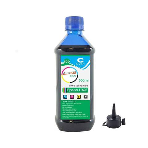 Imagem de Tinta para Impressora Epson L365 Eco Cyan Marpax 500ml