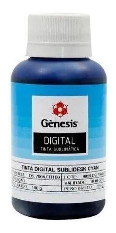 Imagem de Tinta Sublimatica Kit Original Genesis Sublidesk 400ml
