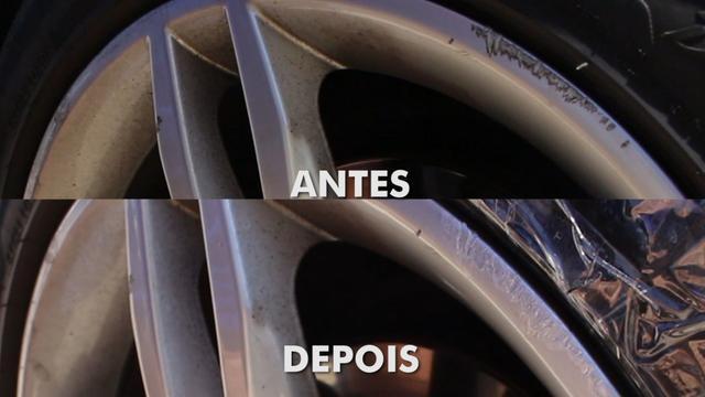 Imagem de Tinta Tira Risco Para Reformas de rodas de Liga Prata Alumínio