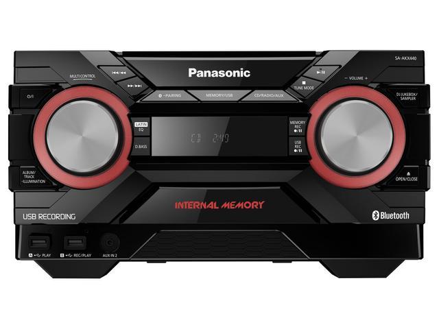 Imagem de Mini System Panasonic Bluetooth USB Rádio AM/FM
