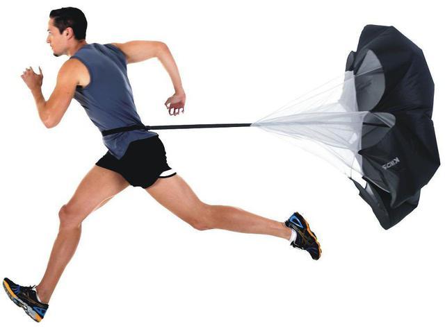 Imagem de Paraquedas para Resistência em Corridas