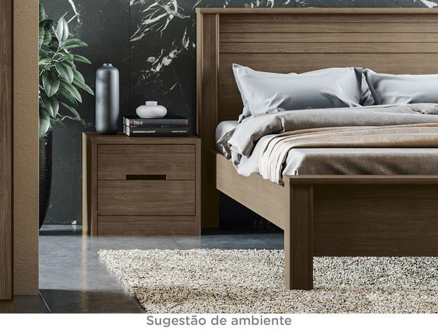 Imagem de Criado-mudo 2 Gavetas Dormitório Gold S822-JA