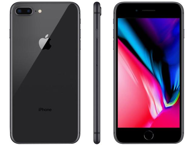 Imagem de iPhone 8 Plus Apple 128GB Cinza Espacial 4G