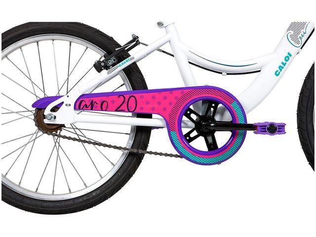 Imagem de Bicicleta Infantil Aro 20 Caloi Ceci Branca