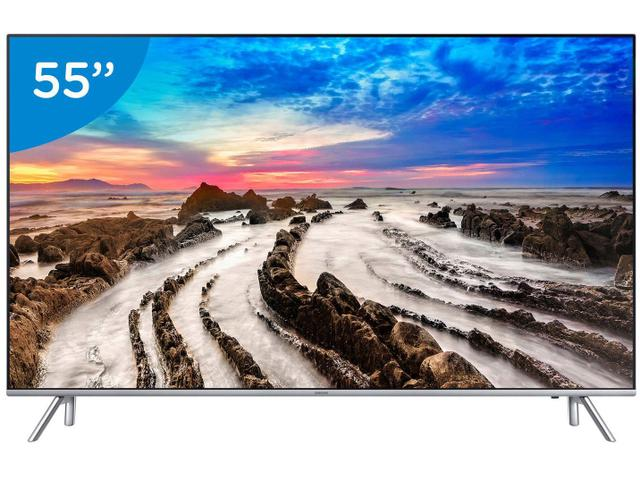"Imagem de Smart TV 4K LED 55"" Samsung 55MU7000 Wi-Fi"