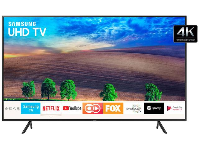 "Imagem de Smart TV 4K LED 55"" Samsung NU7100 Wi-Fi HDR"