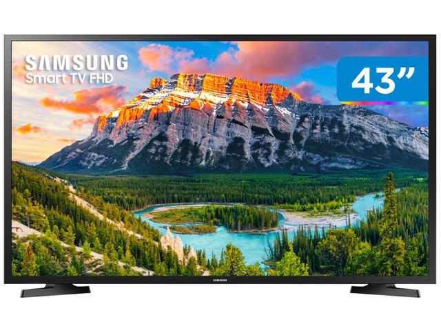 """Imagem de Smart TV Full HD LED 43"""" Samsung Serie J5290 Orsay"""