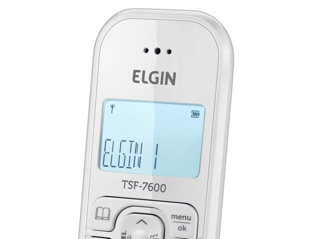 Imagem de Telefone Sem Fio Elgin TSF 7600
