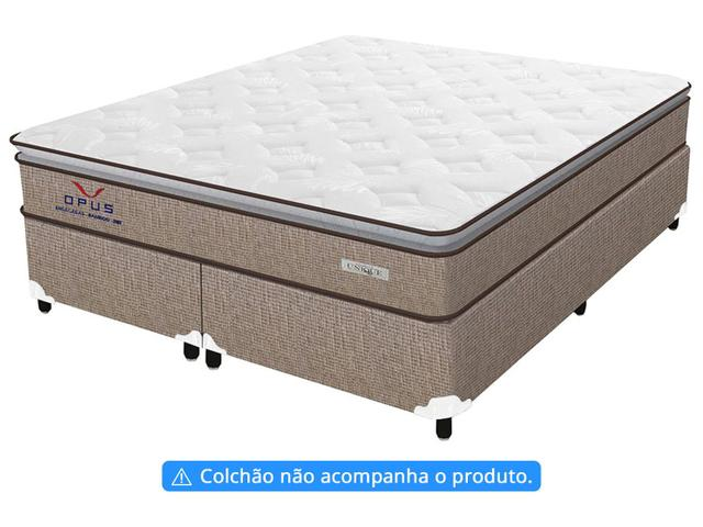 Imagem de Base Cama Box Queen Size Plumatex Bipartido