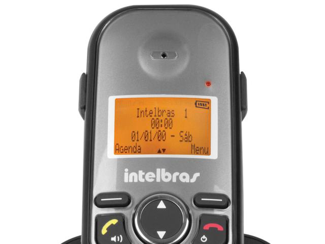 Imagem de Telefone Sem Fio Intelbras TS 5122 + 1 Ramal