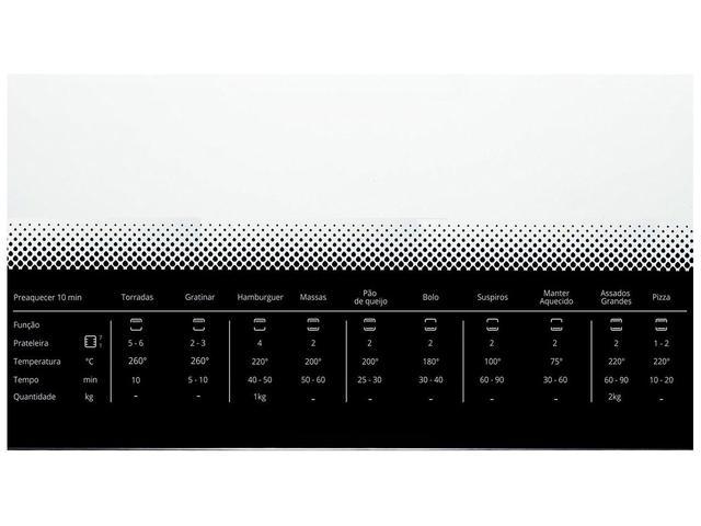Imagem de Forno Elétrico de Embutir Consul COB84 AR