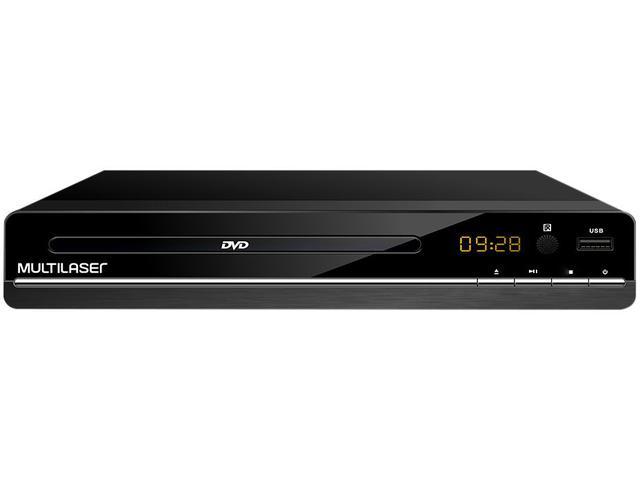 Imagem de DVD Player Multilaser SP252 Conexão USB