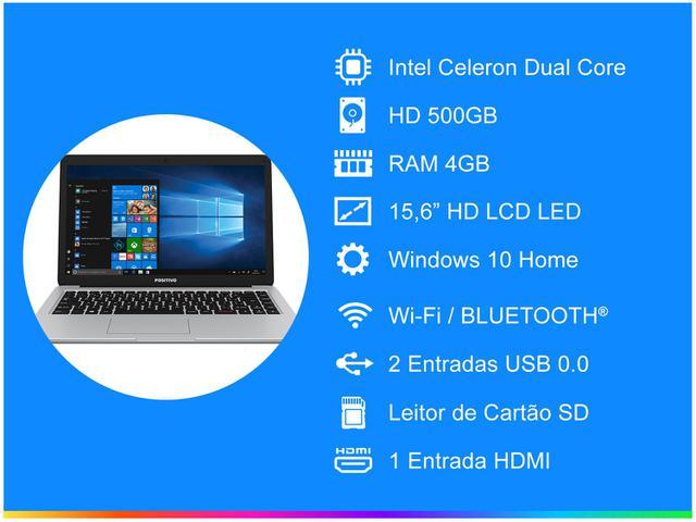 Imagem de Notebook Positivo Motion C4500A Intel Dual Core