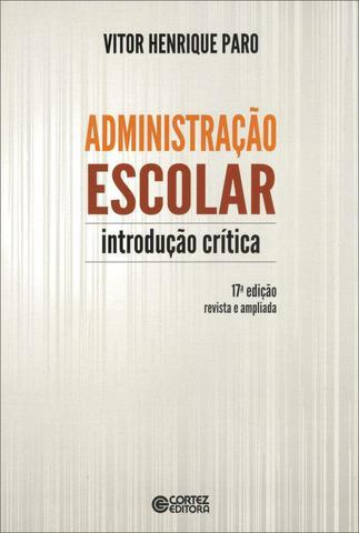 Imagem de Livro - Administração escolar