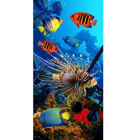 Imagem de Toalha De Banho E Praia Peixes Coloridos 0,76x1,52m Buettner