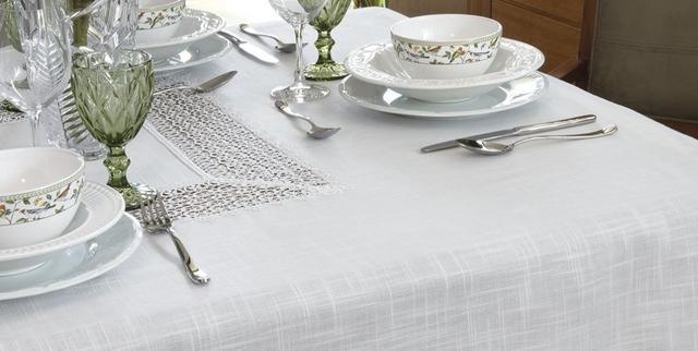 Imagem de Toalha De Mesa Branca Com Renda Guipure 1,80 X 1,80 Cm Nice