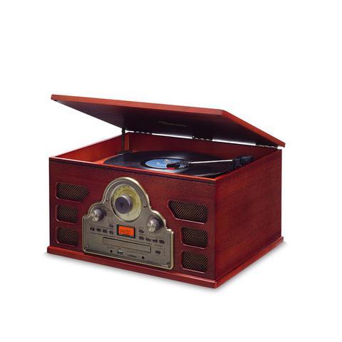 Imagem de Toca Discos Raveo Tenor Bivolt C/conexão Bluetooth Usb Rádio