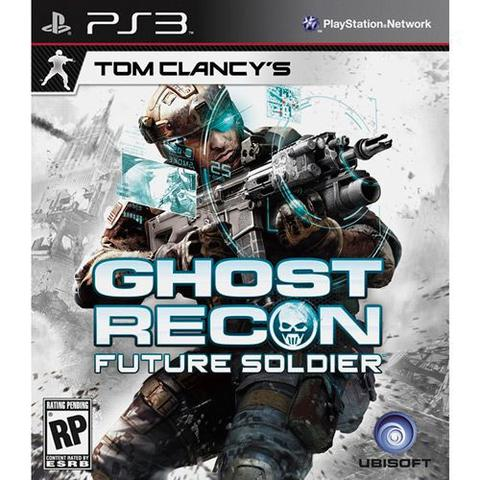 Jogo Tom Clancys Ghost Recon Future Soldier - Playstation 3 - Ubisoft