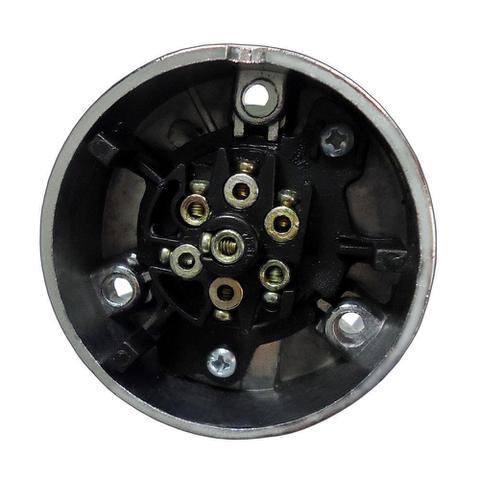 Imagem de Tomada de Engate Fixa (Fêmea) 6 Polos - Alumínio - DNI 8326